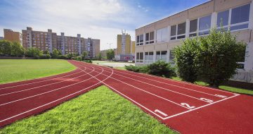 atletické dráhy a sektory