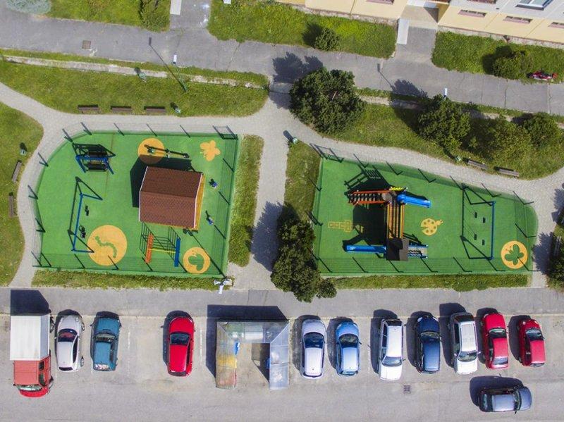 Certifikovaná dopadová plocha pod detské ihrisko - EPDM Mix s nástrekom- Sprišská Belá - Marotrade