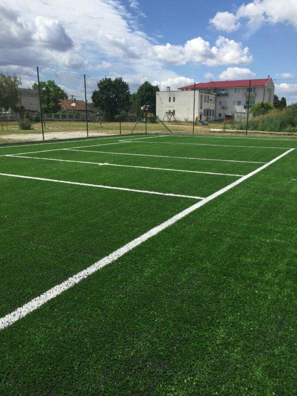 Multifunkčné ihrisko - umelá tráva - Rybany - Marotrde