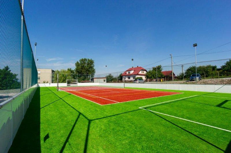 Multifunkčné ihrisko - umelá tráva - Vyšné Remety - Marotrade