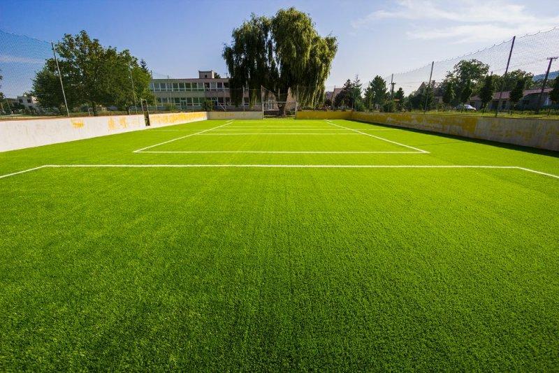 Multifunkčné ihrisko - výmena umelej trávy - Trenčianska Teplá - Marotrade