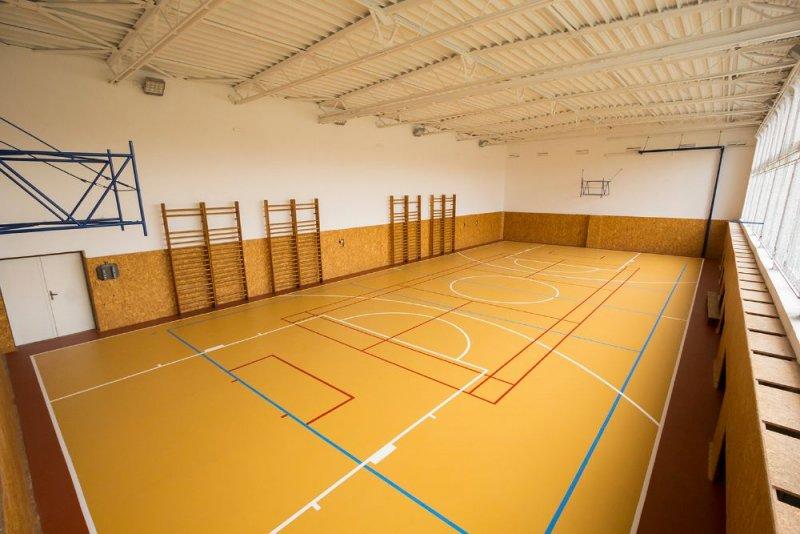 Podlaha telocvične - PU liaty - Báhoň - Marotrade