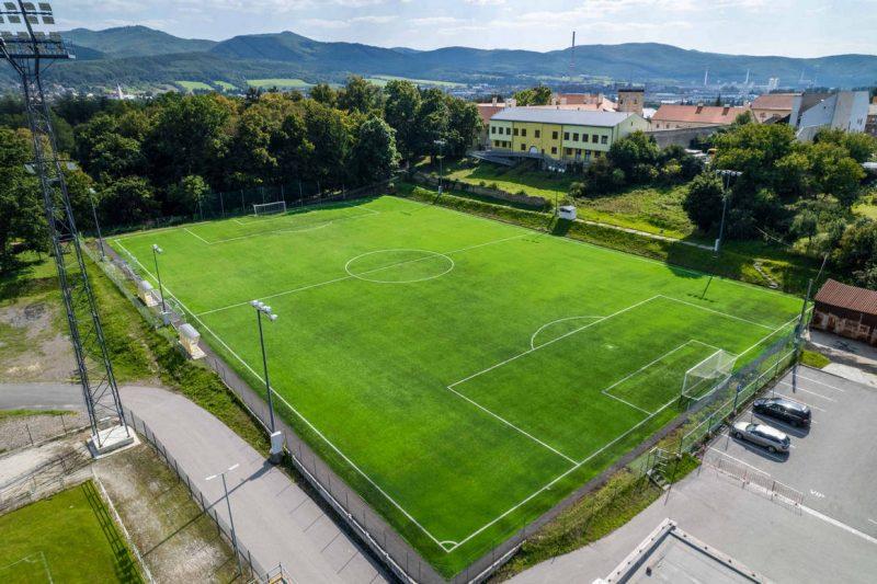 Futbalové ihrisko - umelá tráva - FK Pohronie