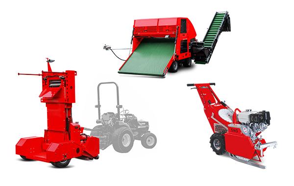 Stroje na rekonštrukciu a pokládku umelej trávy